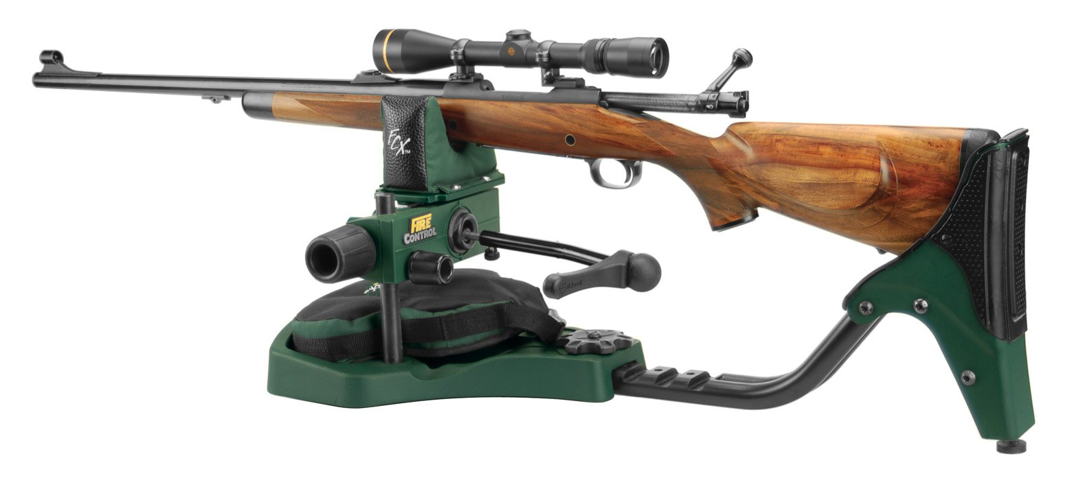 Caldwell Lead Sled FCX Adjustable Ambidextrous Recoil Reducing Rifle Shooting Rest for Outdoor Range by Caldwell