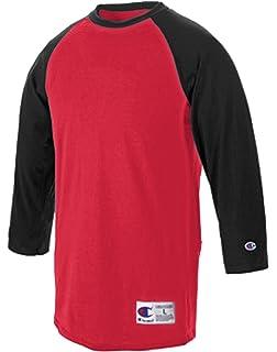 567f8e93 Amazon.com: Champion Men's Raglan Baseball T-Shirt: Clothing