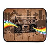 Waterproof Laptop Sleeve Pocket Macbook Air Pro Case Bigfoot Ghetto Blaster Laptop Sleeve Bag Cover For Women & Men All Computer Ultrabook Notebook