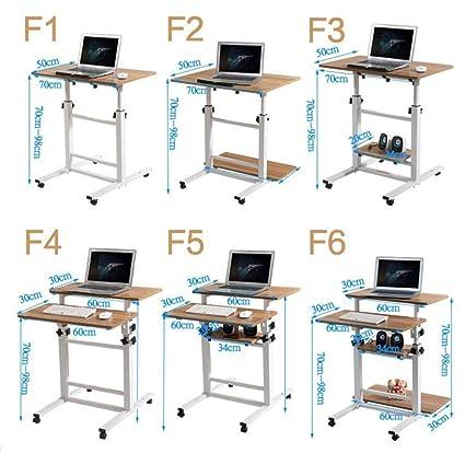 Mobile Ad Angolo Per Computer.Vfdg Scrivania Mobile Per Computer Desktop Scrivania Da Tavolo