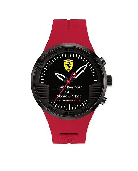 Reloj de caballero Ferrari Smartwach Ultraveloce 0830374: Amazon.es: Relojes