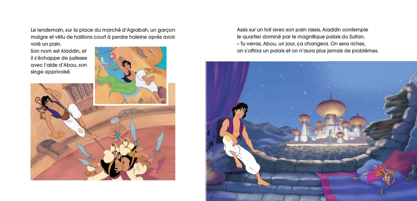 Aladdin Mon Histoire à écouter Mon Petit Livre Cd French