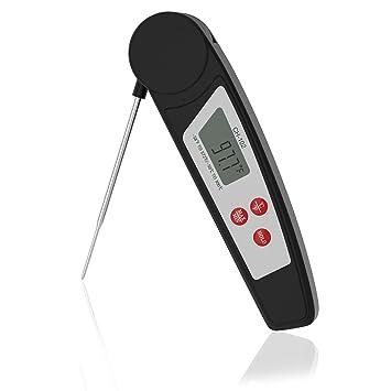 Termómetro digital para carne de lectura instantánea termómetro de cocina IPX55 impermeable termómetro de comida con