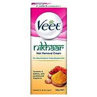 Veet Nikhaar Hair Removal Cream for All Skin Types, 50g