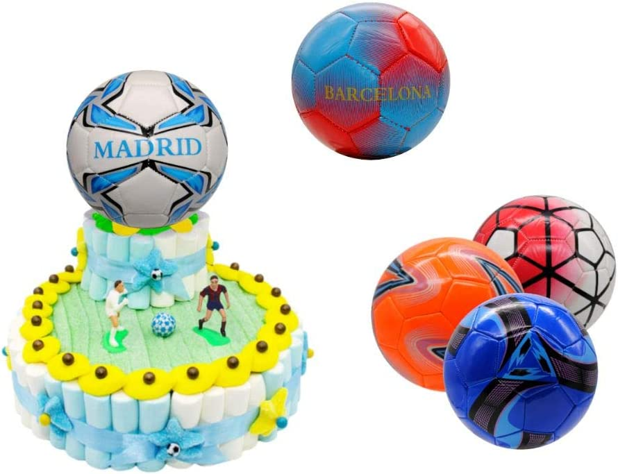 Original Tarta Infantil Decorativa de Golosinas 2 Bases + Balón en ...