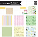 me & my BIG ideas Scrapbook Page Kit, Spring Multi Holidays, 12-Inch by 12-Inch