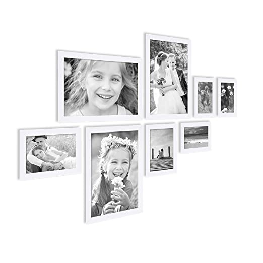 17 opinioni per Photolini Basic- Set da 8 cornici fotografiche Photolini Basic Collection Modern