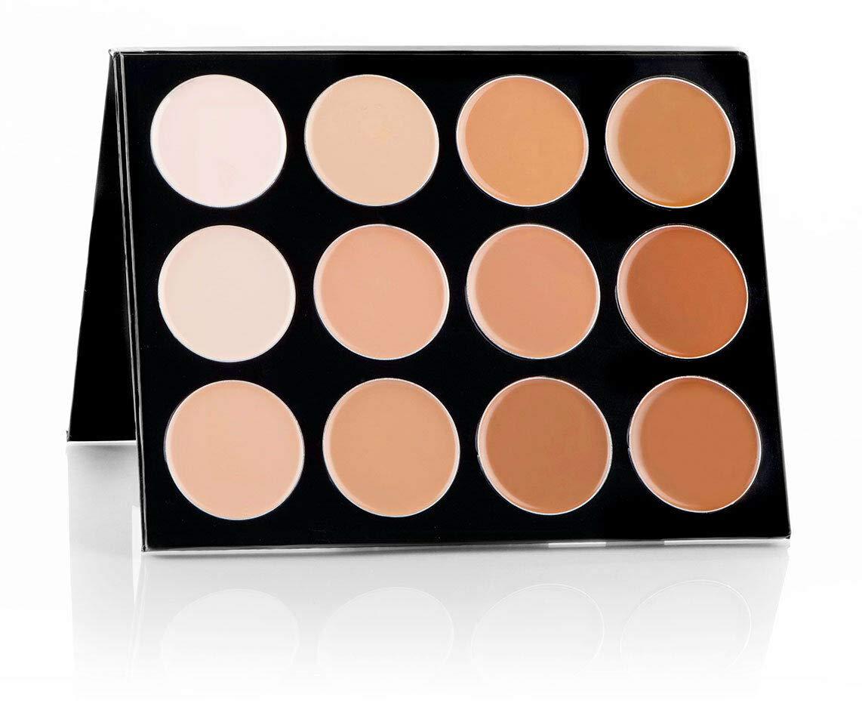 Mehron Makeup Celebre Pro-HD Cream Contour & Highlight Palette (12 Colors)