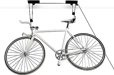 Femor Soporte de techo para bicicletas con poleas elevador ...