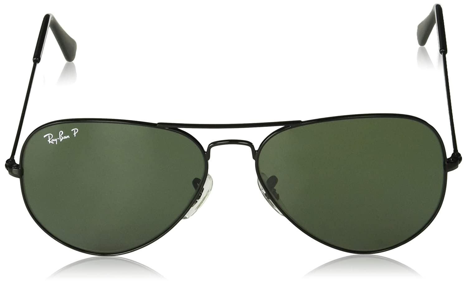 Ray-Ban- Gafas de Sol AVIATOR MOD, 002: Black, One Size: Amazon.es: Ropa y accesorios