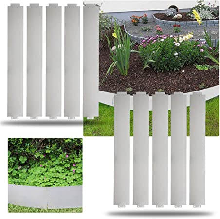 Rasenkante Beetumrandung Verzinkt 14cm//18cm Hoch Metall Rasenkanten 5-50m