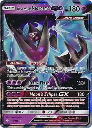 Dawn Wings Necrozoma GX - 63/156 - Ultra Rare - Sun & Moon: Ultra Prism