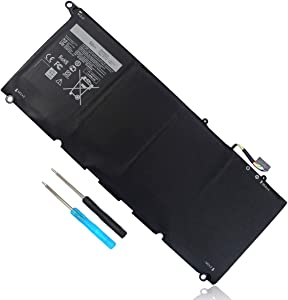 JD25G Battery Compatible with Dell XPS 13 9343 9350 XPS13 13-9350 13-9343 13D-9343 P54G 90V7W JHXPY 5K9CP 0N7T6 0DRRP RWT1R DIN02 0JHXPY P54G001 P54G002 Replacement
