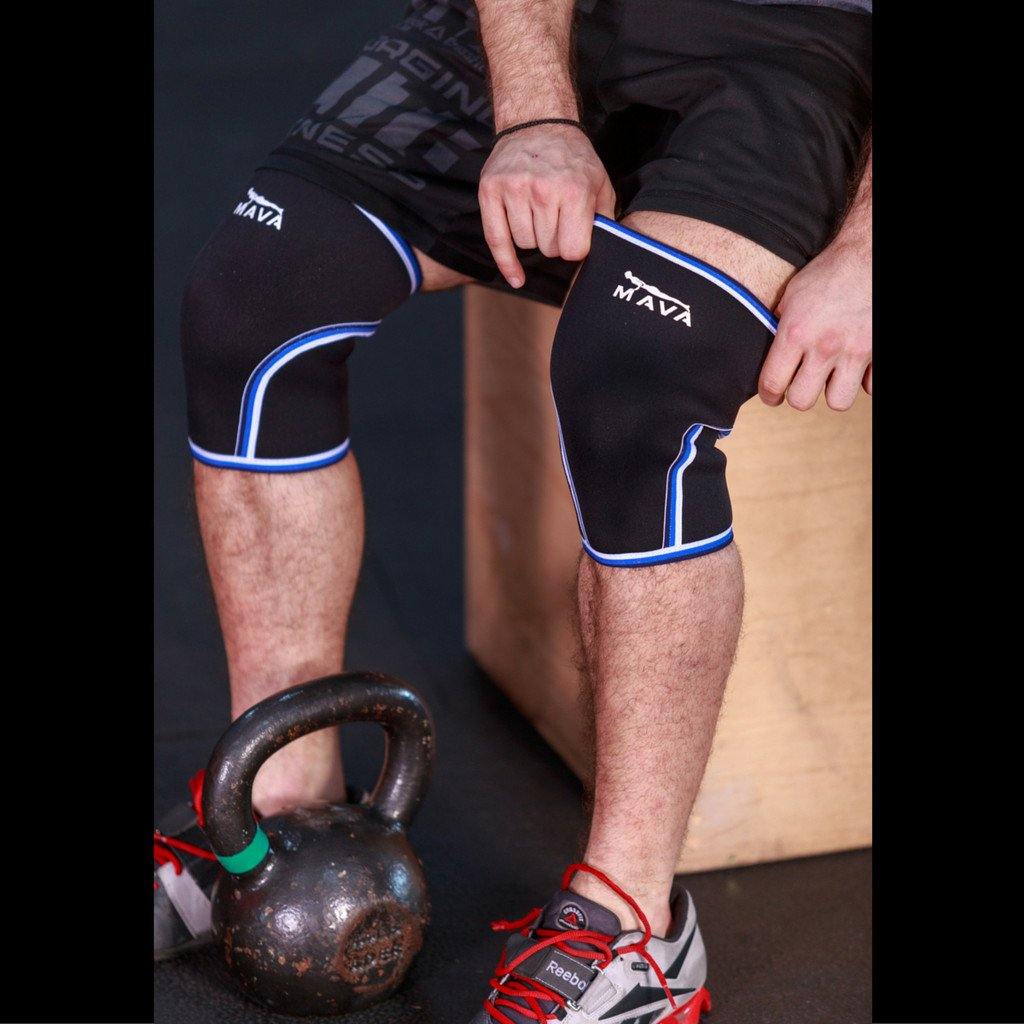 Pair of Knee Compression Sleeves MAVA SPORTS