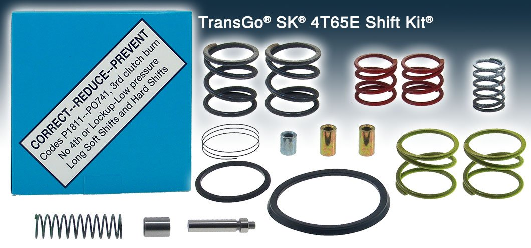 New Transgo Shift Kit SK 4T65E FIX Codes P1811 P0741 Valve Body 1997-On SK4T65E