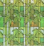 Soqool Privacy Window Film No Adhesive Decorative