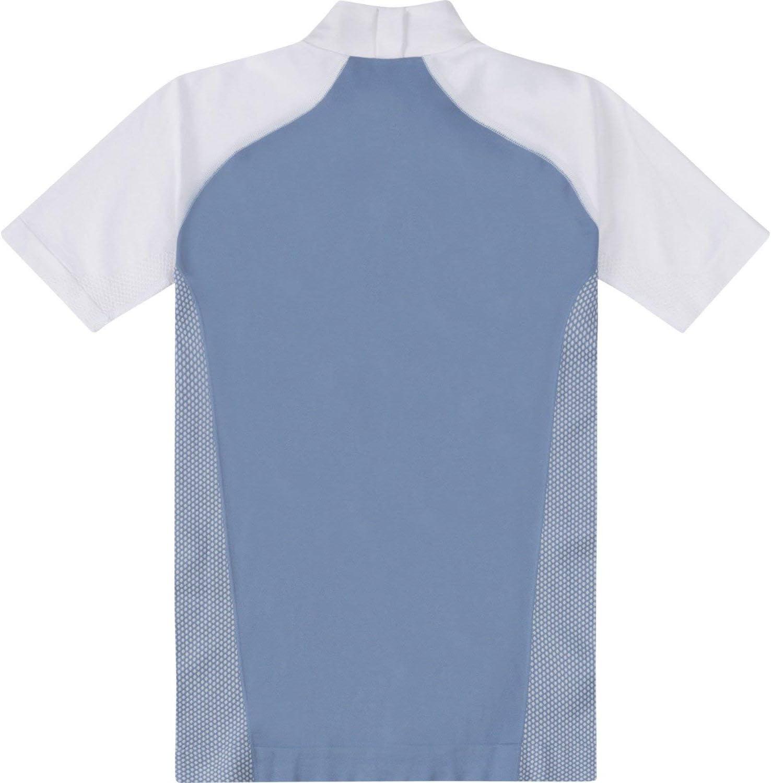 Musto Camisa Performance Mujer Stock Azul Perla/Blanco: Amazon.es ...