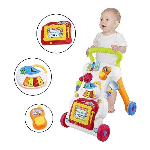 Trotteur multifonctionnel pour bébé chariot chariot Walker pour ...