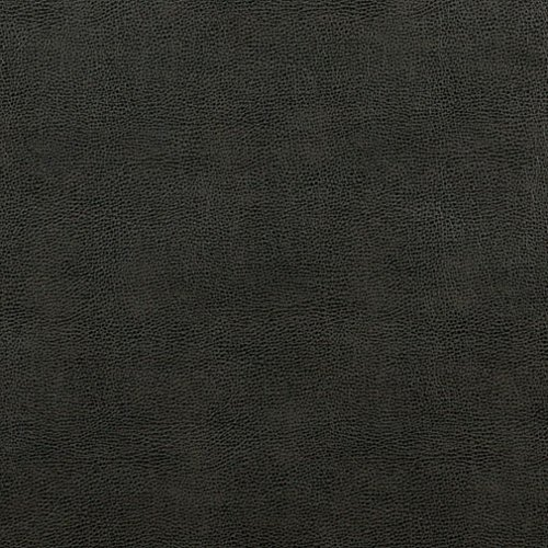 G585 Dark Grey Upholstery Grade Recycled Leather (Bonded Leather) By The Yard ()