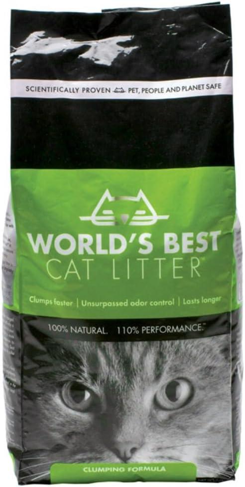 Worlds Best Cat Litter El Mejor Arena para Gatos, con clumping, 8 ...