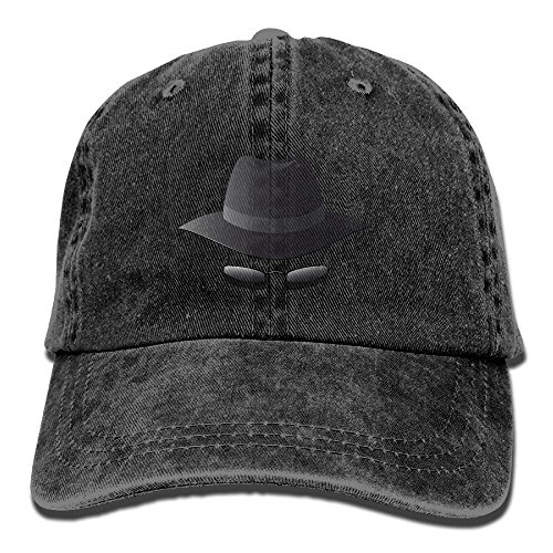 Hires Black Hat Sunglasses Denim Adjustable Baseball Caps For Mens Womens Unusual Hip Hop Trucker Hats - Indian Sunglasses Army