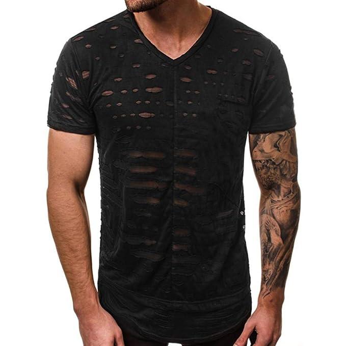 Fun Bekleidung T Shirt Männer,Herren Sommer Persönlichkeit