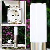 Presa elettrica Moderna Lampioncino da giardino Acciaio inox Design