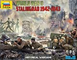 Zvezda 1/72 BATTLE OF STALINGRAD WWII (Historical Wargame) # 6260 - Plastic Model Kit by Zvezda