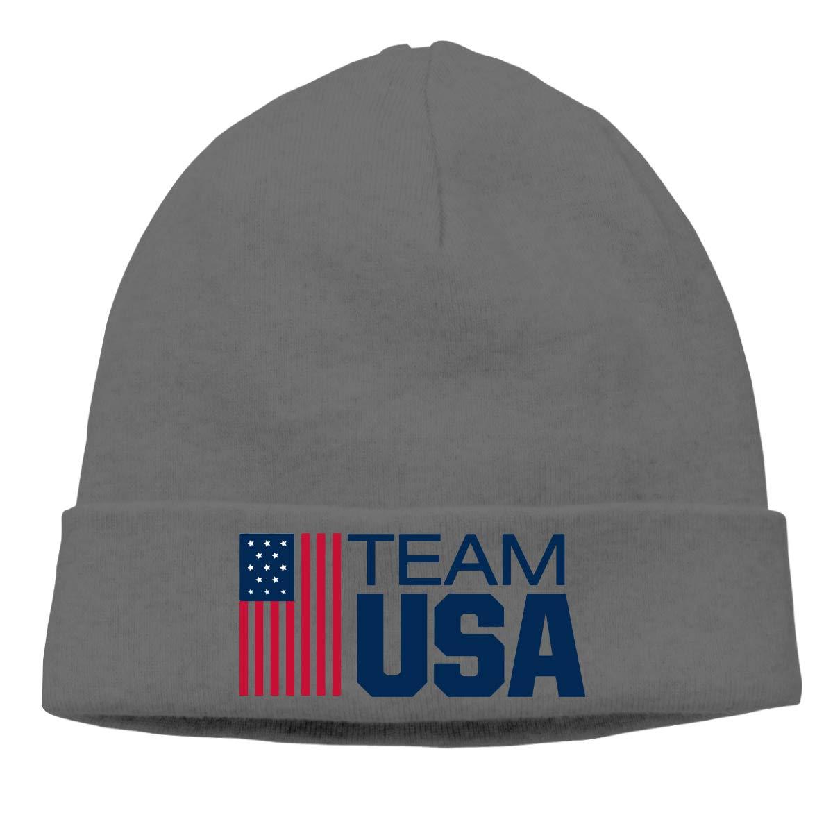 Nskngr Team USA Boxing Cap Mens/&Womens Oversized Baggy Plain Skull Ski Slouchy Hat