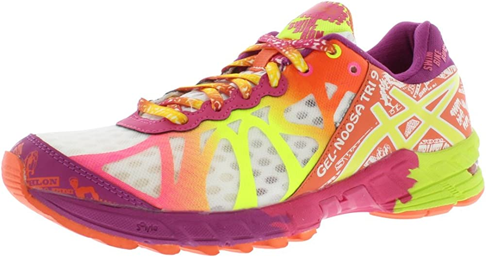 Asics Gel-Noosa Tri 9 Zapatilla de Running de la mujer, Blanco (Blanco), 7 B(M) US: Amazon.es: Zapatos y complementos