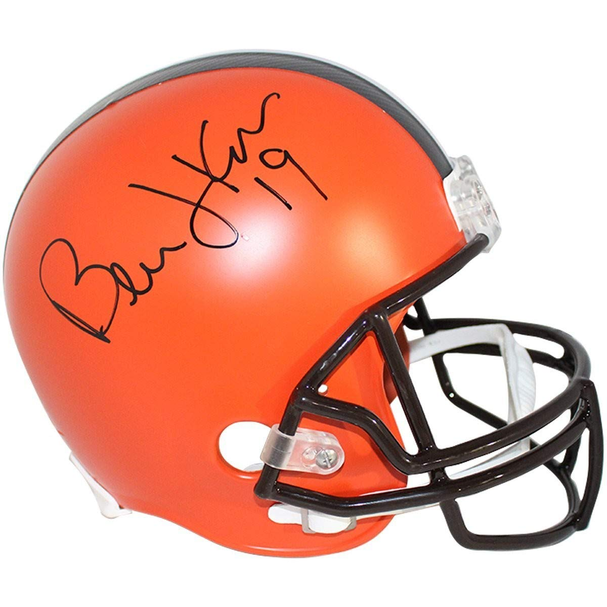 7fcfa1cf Amazon.com: Bernie Kosar Autographed Signed Cleveland Browns Riddell ...