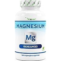 Magnesium - 365 capsules (12 maanden) - 665 mg per capsule, waarvan 400 mg elementair magnesium - Hooggedoseerd - Zonder…