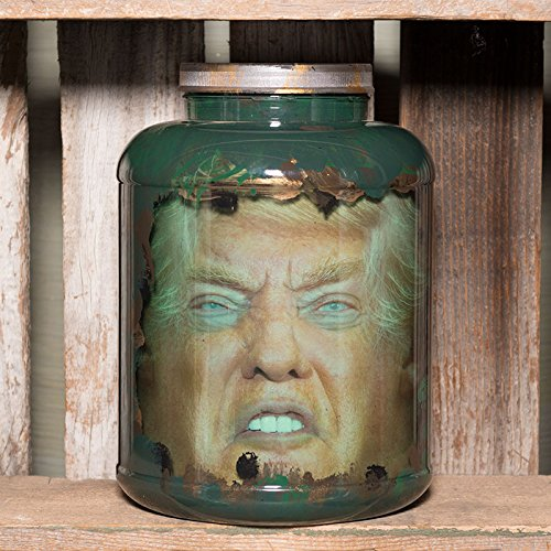 [Donald Trump Head in Jar -