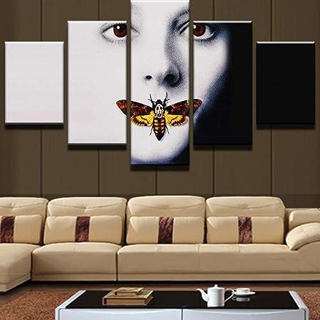 MMLFY 5 Pinturas consecutivas Decoración para el hogar de ...
