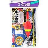 ささめ針(SASAME) ウルトラ簡単飛ばしサビキ(上カゴ式) S S-553