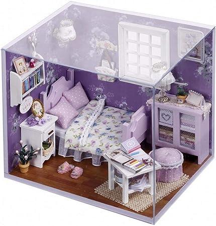 Maison de Poupée Miniature Dollhouse Décoration Maison Table Jouet-Sunshine