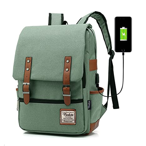 4cb69f199f Amazon.com  Professional Laptop Backpack with USB Charging Port ...