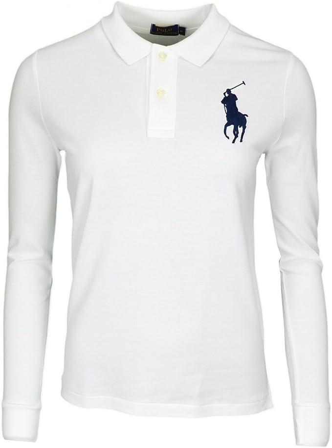 Polo Ralph Lauren V38IOBPLC9416 Sudadera Deportiva, Blanco (White ...