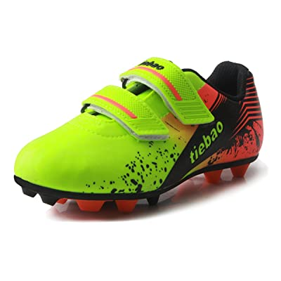 T&B Kids' Performance Soccer Cleats Shoes Football (Little Kid/Big Kid)NO.76660A