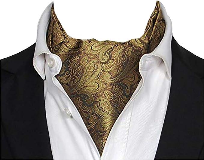 Corbatas Bufandas de Hombre Jacquard Paisley Pañuelo Regalo de San ...