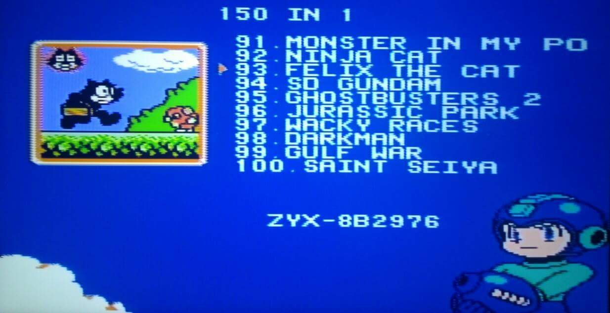 Super Games 150 in 1 - Mario, Kirby, Megaman, TMNT ...