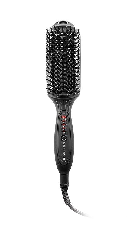 Macom 228 Straightening brush Negro 50W 2.5m Utensilio de peinado - Moldeador de pelo (