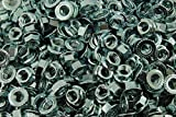 (400) Serrated Flange 3/8-16 Hex Lock Nuts - Zinc Plated