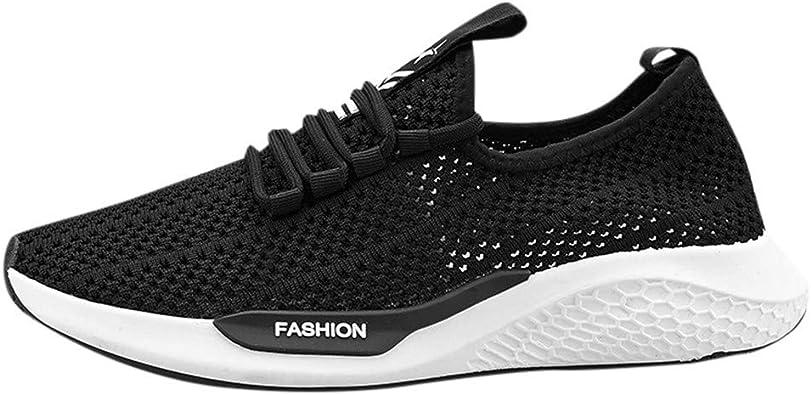 OPAKY Zapatillas de Running Unisex Adulto Calzado Deportivo Casual para Hombre Zapatillas de Camuflaje Transpirables Zapatos de Marea Baja: Amazon.es: Zapatos y complementos