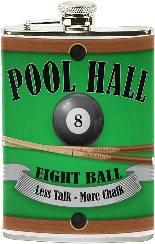 Póster de billar de COOSUN con bola de 8 bola de billar con ...