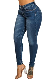 Amazon.com : Jeans Colombianos Levanta Cola Leandrus 248 ...
