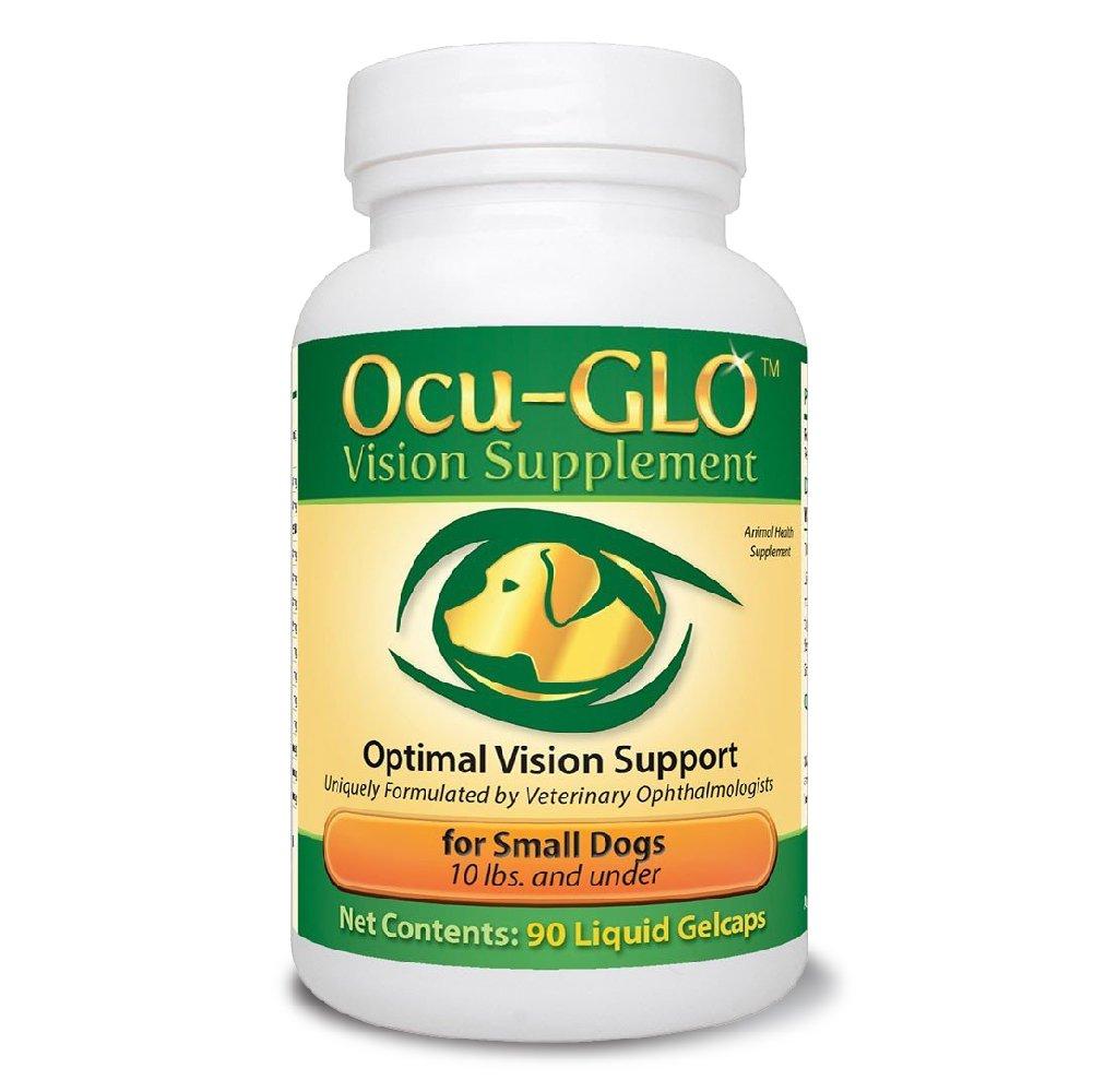 Ocu-GLO Rx für KLEINE Hunde (90 Gelcaps)