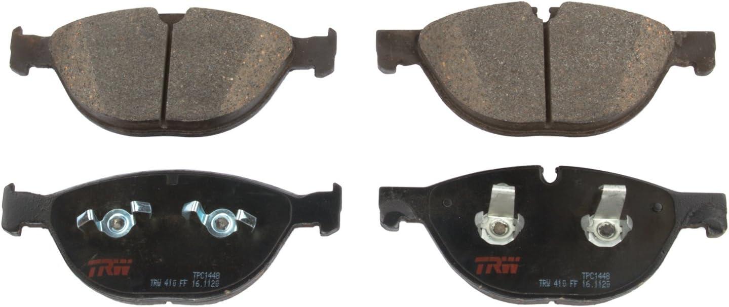 Disc Brake Pad Set-Premium Disc Brake Pad Front TRW TPC1472