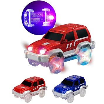 Voiture Cars Lumineux Magic Circuit Track 1pc Pour Lunji bf7gy6