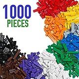 [Sponsored]Barcaloo Building Bricks - 1,000 Piece Brick Building Kit - Compatible with all Major...